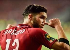 المهاجم المغربي أزراو يسجل في أول فوز للأهلي بدوري أبطال إفريقيا