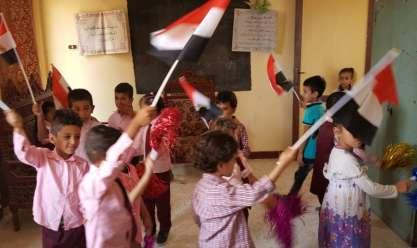 احتفالات 6 أكتوبر بمدارس سيناء عروض تمثيلية للحرب وتوعية
