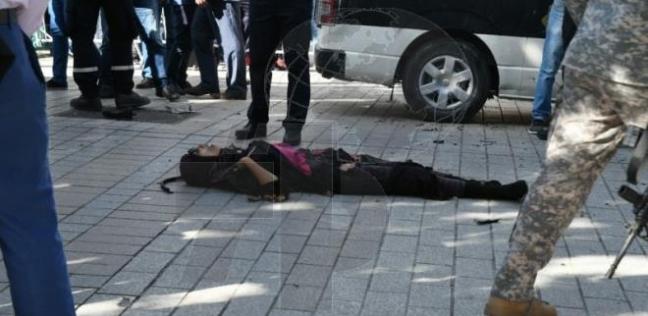 نتيجة بحث الصور عن 9 جرحى في هجوم انتحاري نفذته امرأة وسط العاصمة التونسية