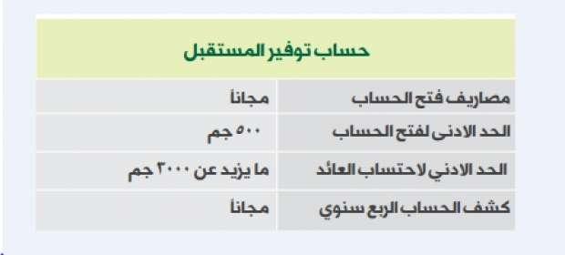 لائحة أسعار الخدمات المصرفية بالبنك الأهلي المصري أي خدمة
