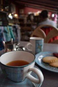 Tea with Scottish Biscuit
