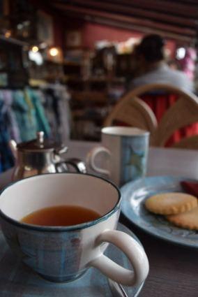 Tea with Scottish Biscuit