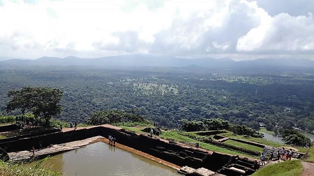 シギリヤロック スリランカ旅行で絶対に行くべき場所
