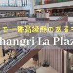 【マニラ】オルティガスセンターにある都会のオアシス、 シャングリラプラザ とエドサシャングリラ
