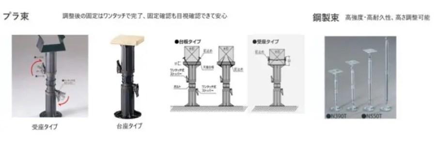 プラ束鋼製束