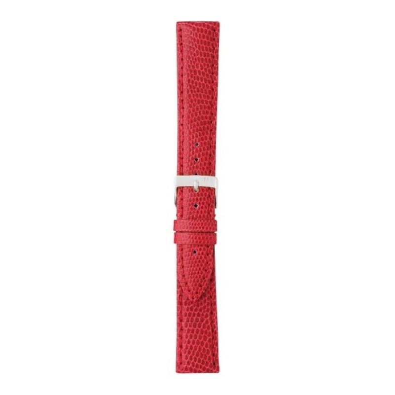 cinturino lucertola rosso