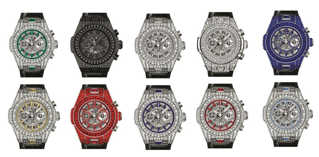 Hublot Big Bang UNICO Haute Joaillerie Collection