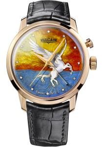 Vulcain 50s Presidents' Enamel Pegasus Only Watch