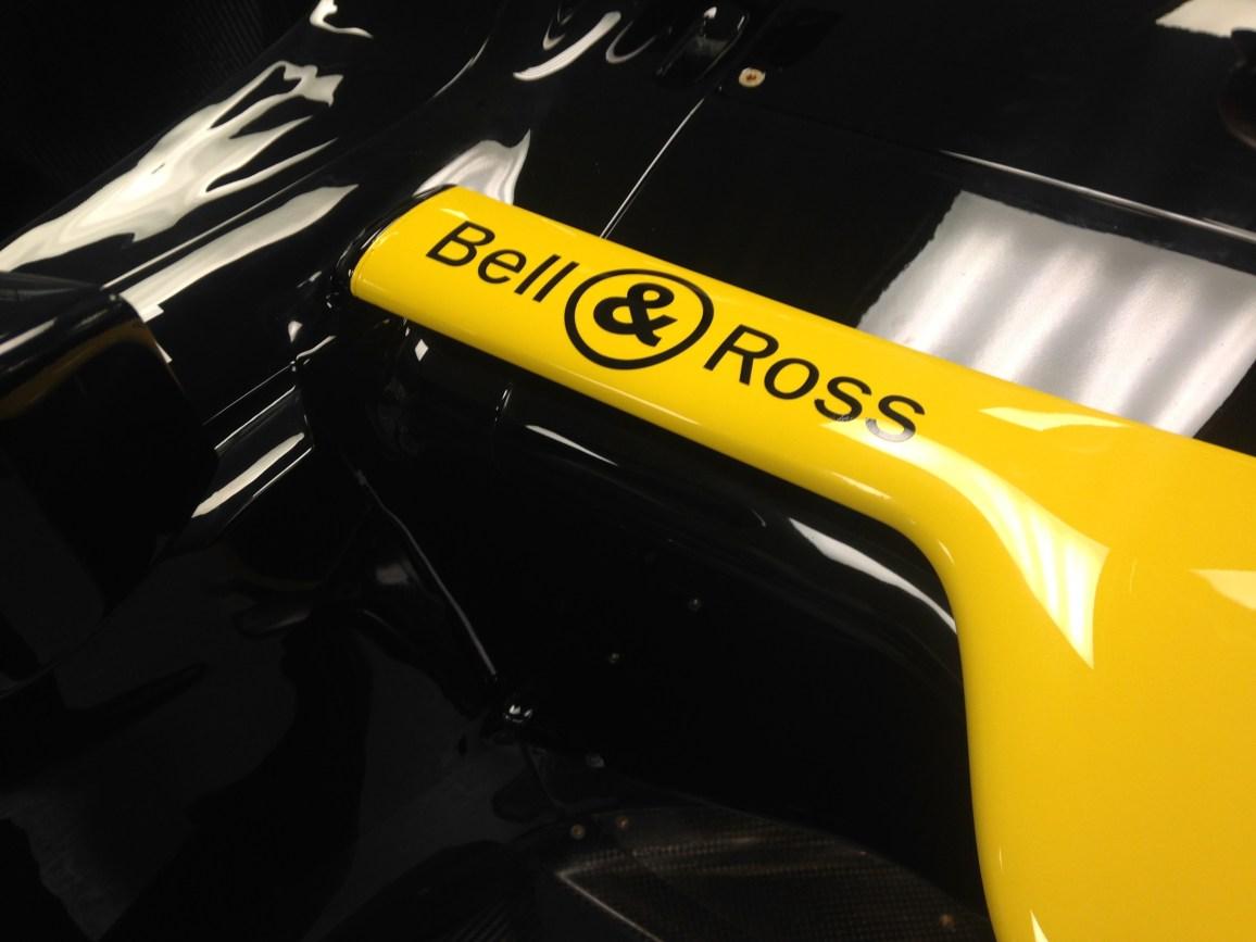 Bell & Ross partenaire de Renault F1