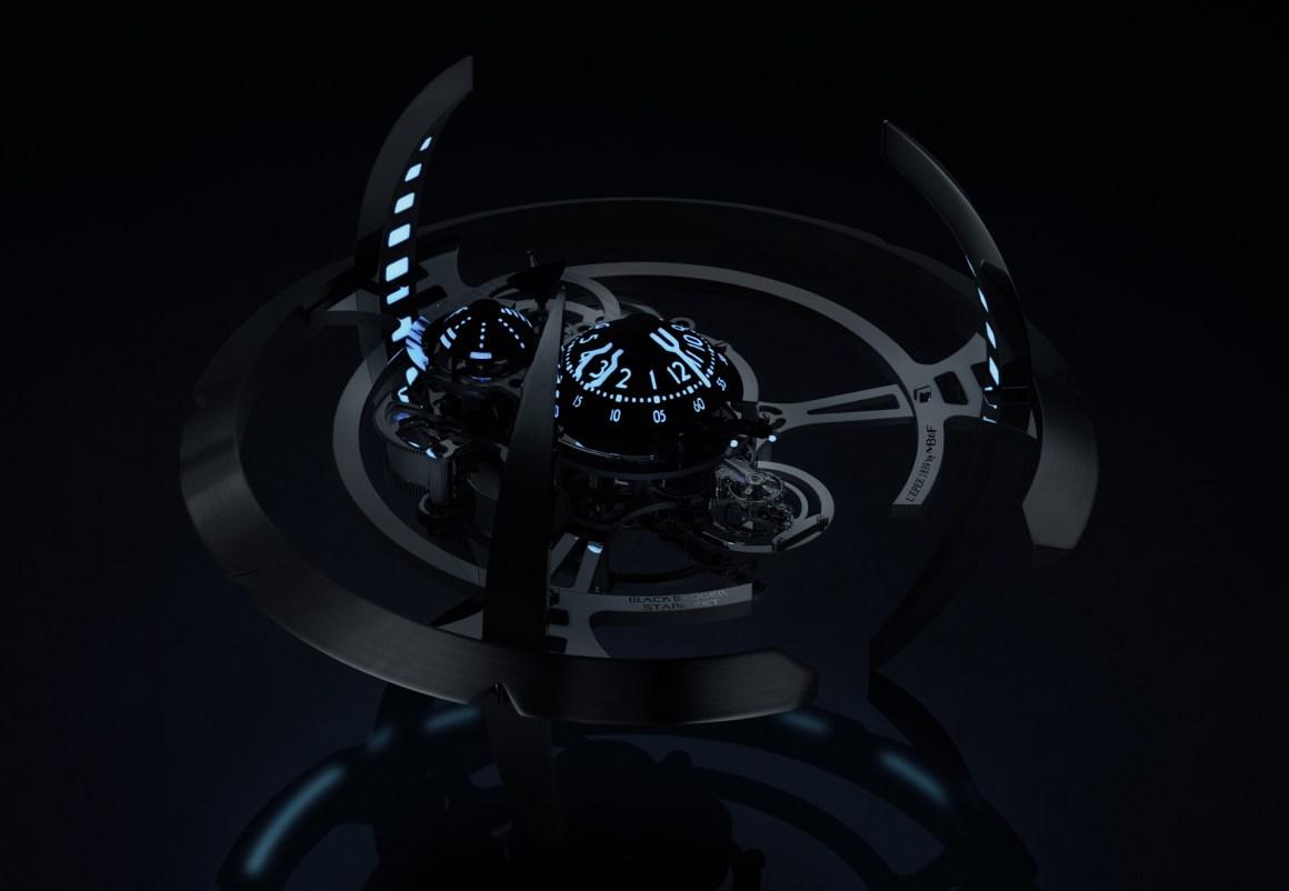 MB&F Starfleet Machine Black Badger-Front