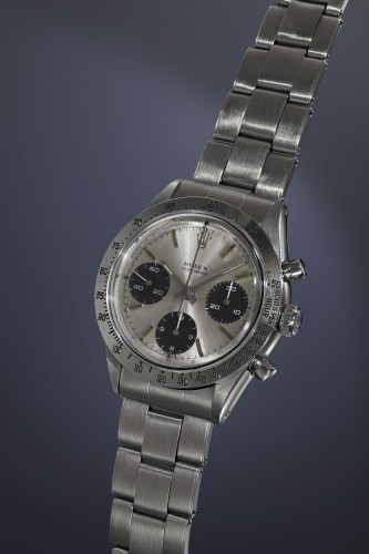 """3-Rolex Cosmograph """"The Doctor"""", 6239, Stainless steel, 1966"""
