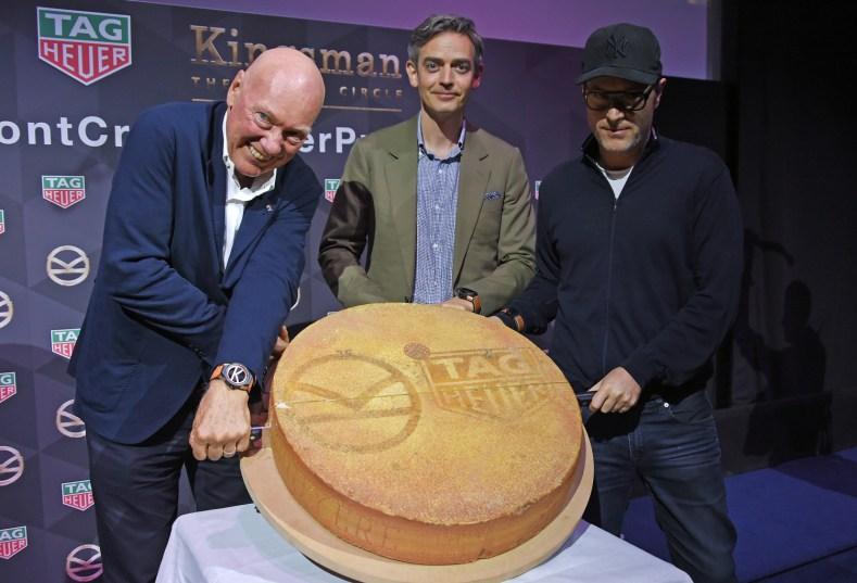 TAG Heuer-Kingsman Mr.Jean-claude Biver; Toby Bateman; Matthew Vaughn