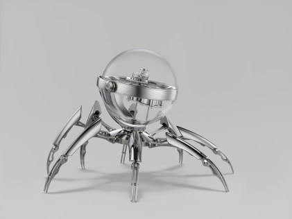 Octopod_Profile_Silver