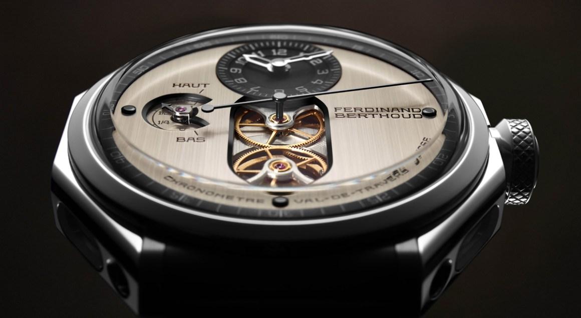 Chronomètre FERDINAND BERTHOUD FB 1.3 cadran