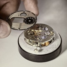 Chronomètre_FERDINAND_BERTHOUD_FB_making_of_Dial being set on the movement
