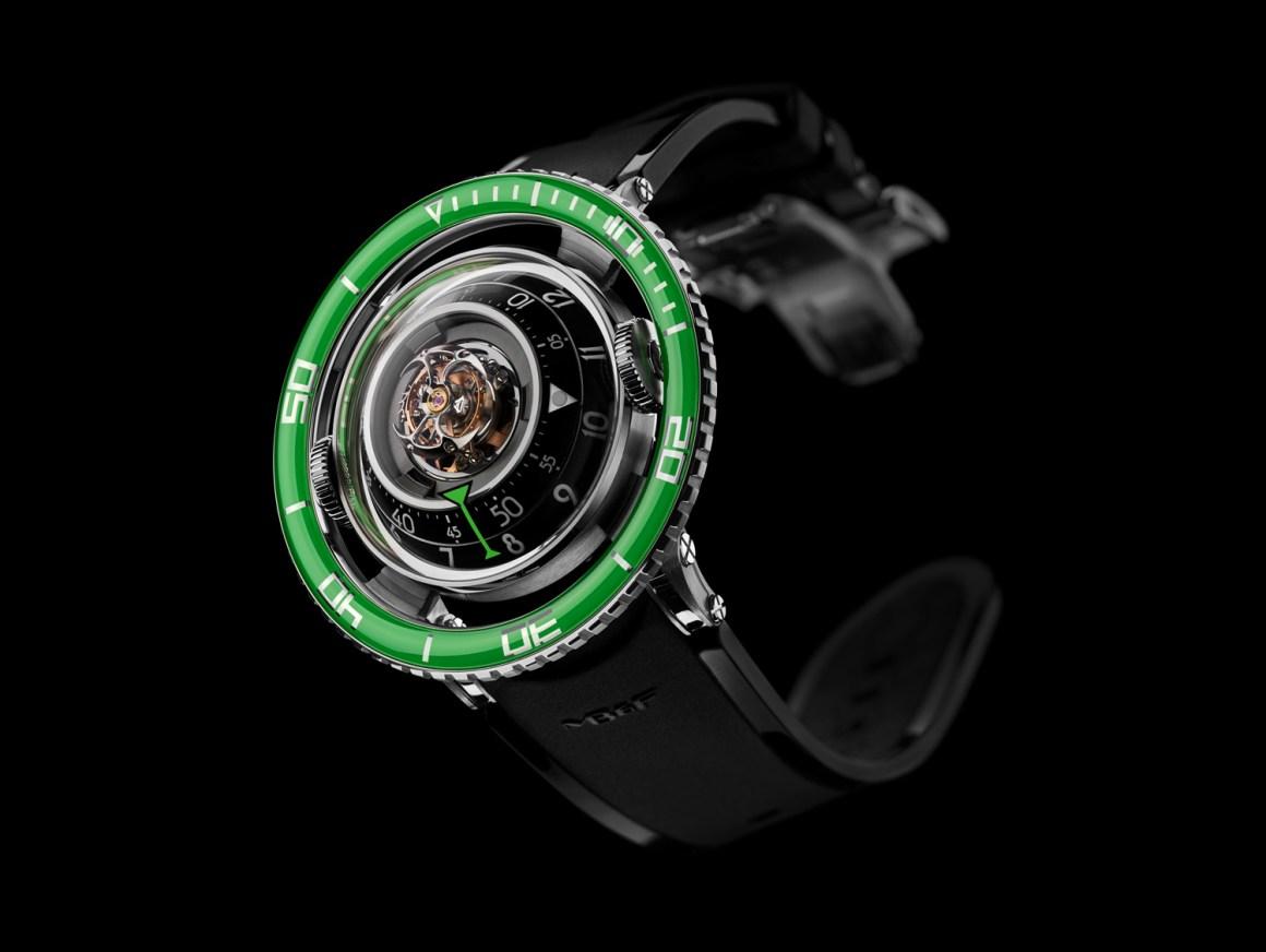 MBF Aquapod HM 7 Ti Green