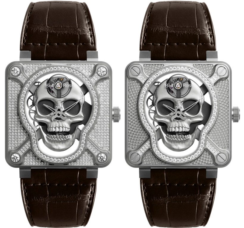 Bell & Ross BR 01 Laughing Skull