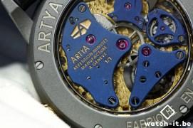 ArtyA Lion's Head Répétition Minute Tourbillon-back detail-2