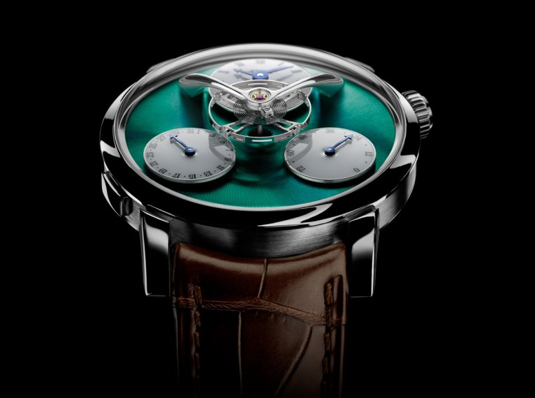 MB&F Legacy Machine Split Escapement-face