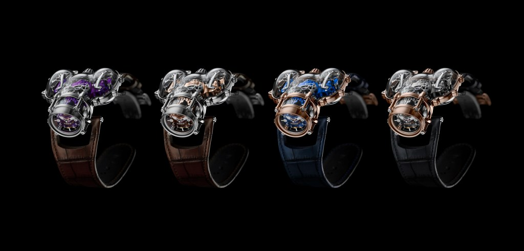 MB&F Horological Machine No. 9 HM9-SV famiy