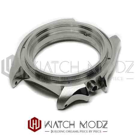 Polished silver skx007 case