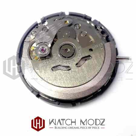Rear view Seiko SII NH36 Automatic Movement