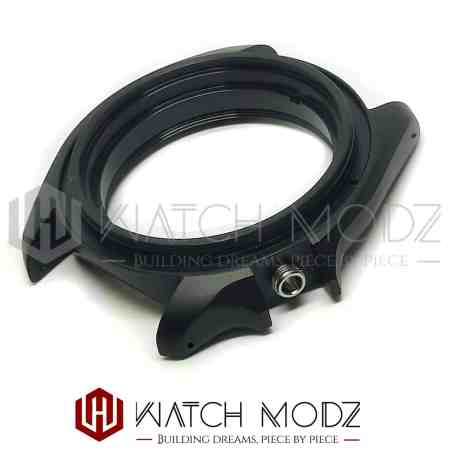 Matte Black Drilled Lugs Fully Compatible Case for SKX007
