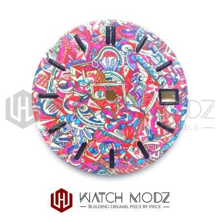 28.5mm Abstract Dial for skx007