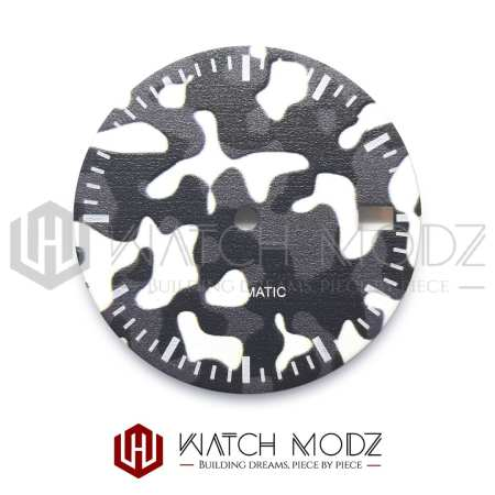 28.5mm Arctic Camo Dial #1 for nh35