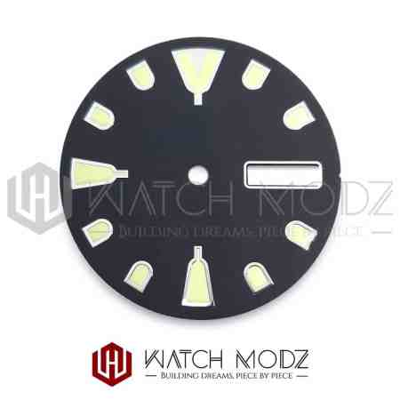 28.5mm C3 Mini Turtle Style Dial for nh36 movement