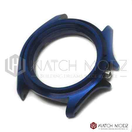 seiko skx007 replacement case 3:00 Aegean blue