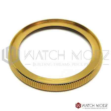Srp turtle coin bezel polished gold
