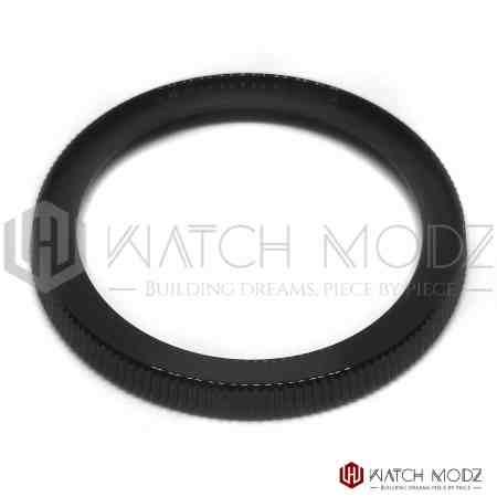 Srp turtle coin bezel polished black