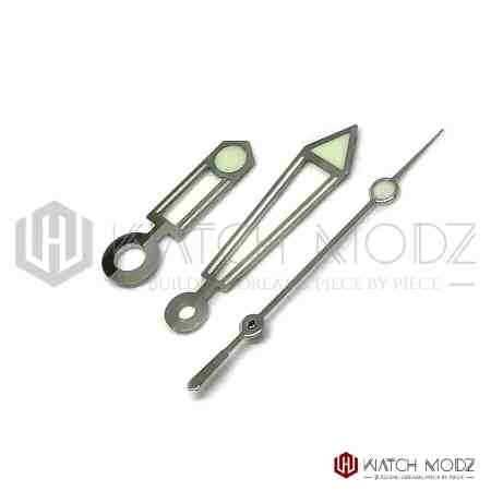Silver s. Master pro hand set for nh35 movement
