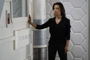 """MARVEL'S AGENTS OF S.H.I.E.L.D. - """"Emancipation"""" - With only two episodes left before S.H.I.E.L.D. loses one of their own, Daisy's prophecy ticks closer towards a major loss, as the aftermath of the events of """"Marvel's Captain America: Civil War"""" force S.H.I.E.L.D. to register the Inhumans, on """"Marvel's Agents of S.H.I.E.L.D.,"""" TUESDAY, MAY 10 (9:00-10:00 p.m. EDT), on the ABC Television Network. (ABC/Kelsey McNeal) MING-NA WEN"""