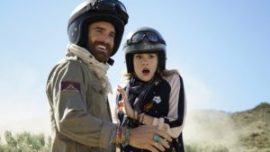 """No Tomorrow -- """"Pilot"""" -- Image Number: NOT101c_0139.jpg -- Pictured (L-R): Joshua Sasse as Xavier and Tori Anderson as Evie -- Photo: Eddy Chen/The CW -- © 2016 The CW Network, LLC. All Rights Reserved."""