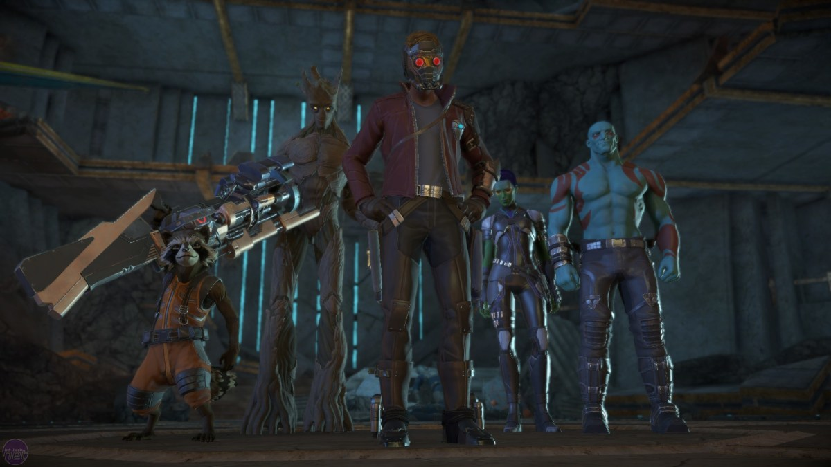 Guardians of the Galaxy: The Telltale Series, Episode 1: Tangled Up in Blue