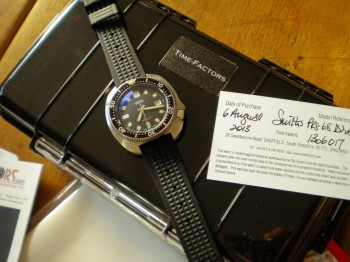 Smiths Diver PRS-68 Atop Peli Case