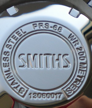 Smiths Diver PRS-68 Case Back