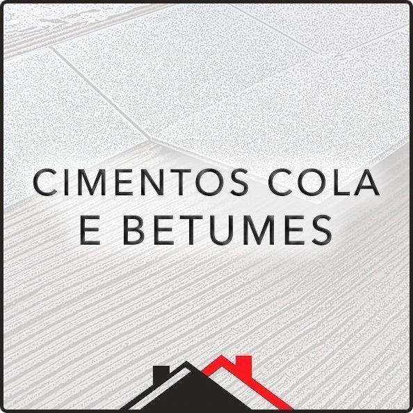 Cimento Cola e Betumes