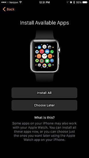 Apple Watch - Apps
