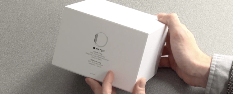 unboxing - Apple Watch