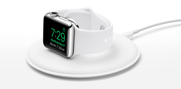 Apple lança dock magnético para carregamento do Apple Watch