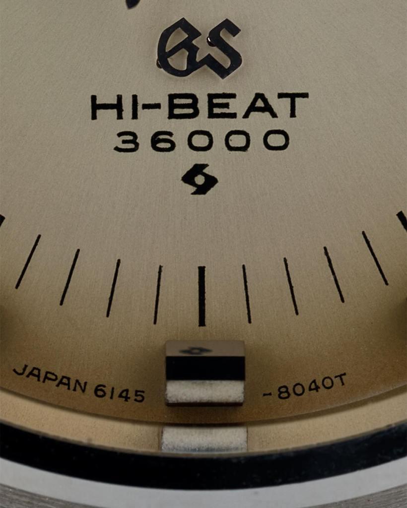 Grand Seiko 6145-8020 dial detail