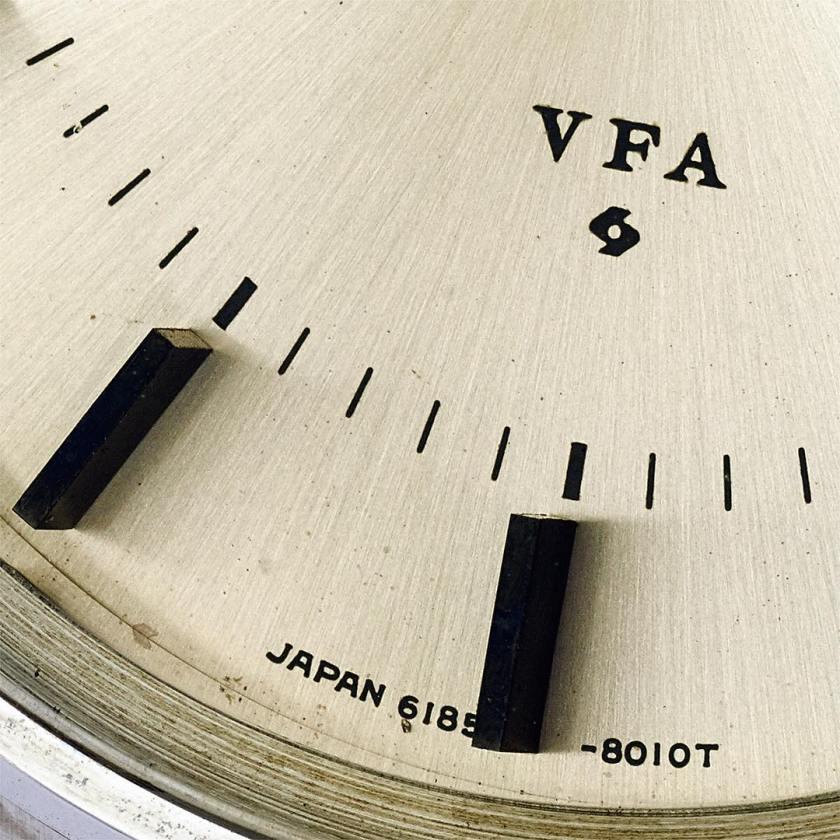 Grand Seiko 6185-8021-G VFA dial detail