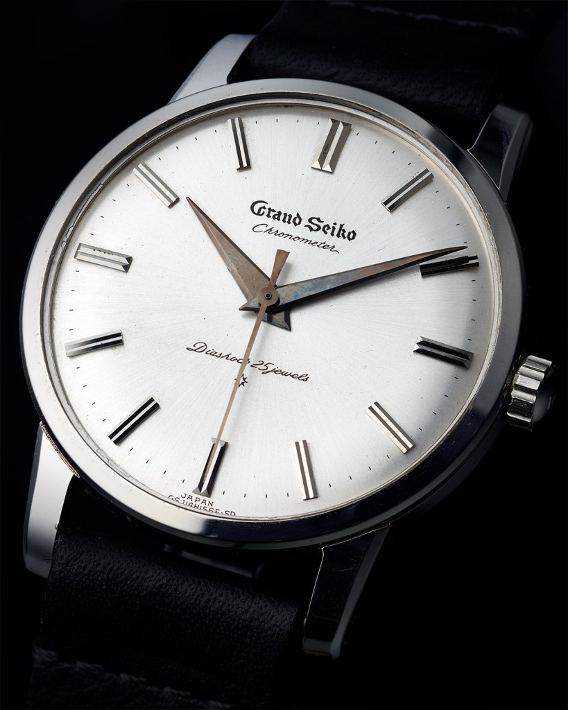 "Grand Seiko ""First"" in Stainless Steel"