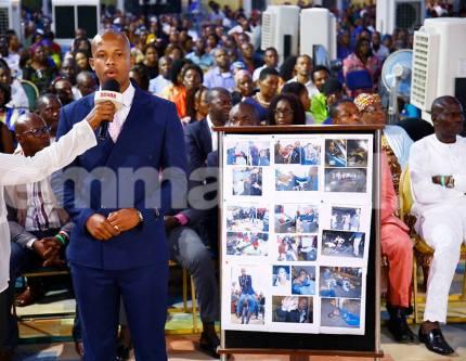 Pastor Penuel Mnguni in the SCOAN
