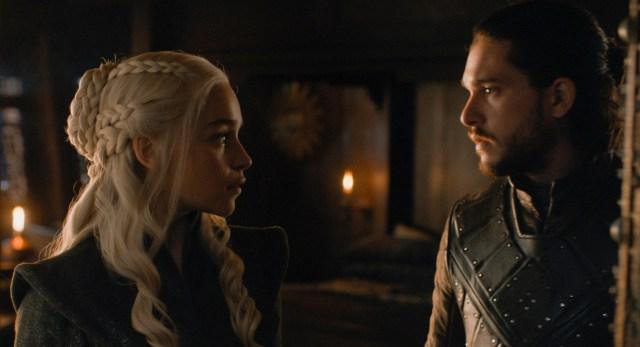 Jon Daenerys Season 7 707
