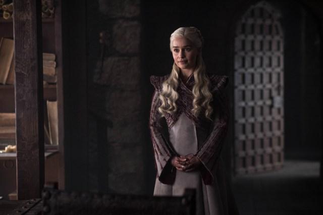 Emilia Clarke as Daenerys. Photo: Helen Sloan / HBO