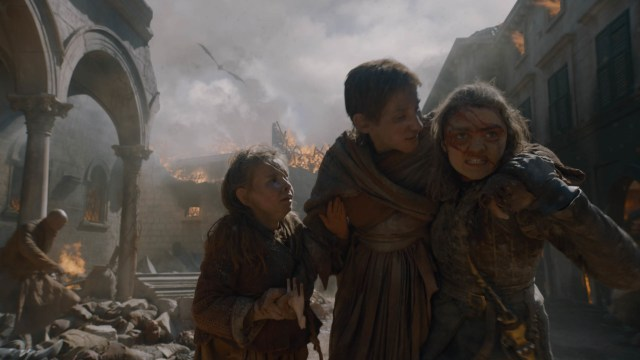 Arya Stark mother daughter The Bells